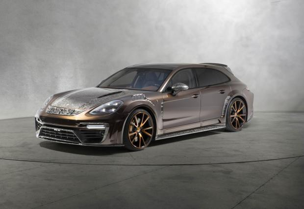 Porsche Panamera Sport Turismo е получил отчетливо експесивен тунинг и +35 к.с.