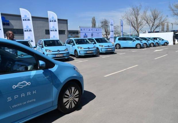 Над 90% от флотилията на Spark е съставена от VW e-up