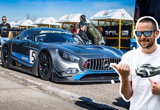 Benz-ът рекордьор и още 57 кадъра от Серес.