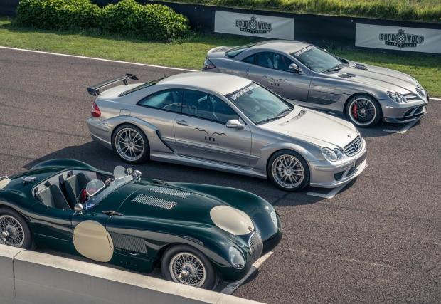 McLaren SLR, Mercedes CLK DTM, Jaguar C-Type