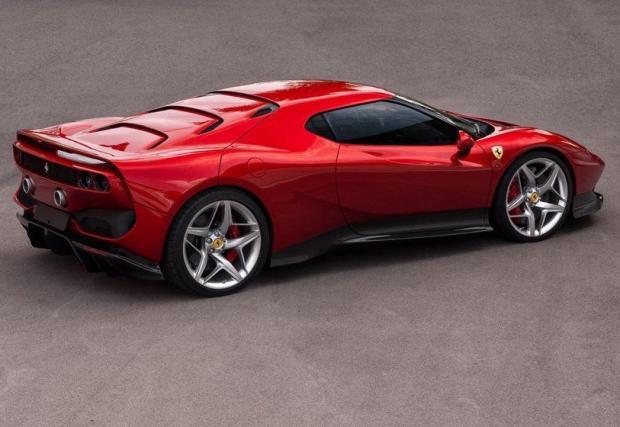 Ferrari SP38: Най-новото уникално Ferrari. Техниката е от 488, но дизайнът е съвсем нов, донякъде вдъхновен от иконата F40. Механиката е същата като в 488 GTB - 3,9-литров битурбо V8 с 670 к.с., задно предаване и трансмисия с два съединителя.