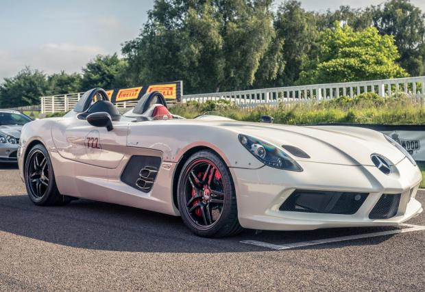 Mercedes SLR Stirling Moss 722 edition