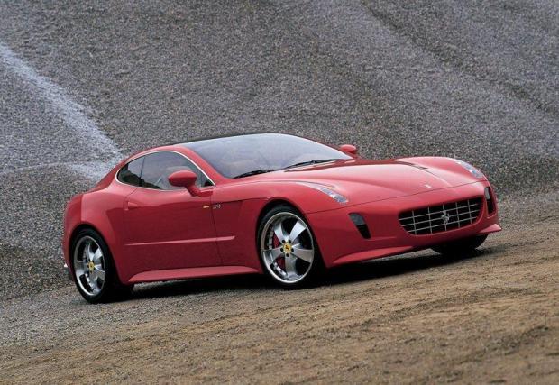 Ferrari GG50: Макар да е скицирано от самия Джорджето Джударо, не е от най-елегантните Ferrari-та. Базирано е на 4-местното 612 Scaglietti и също използва V12, в съчетание със секвенциална скоростна кутия.