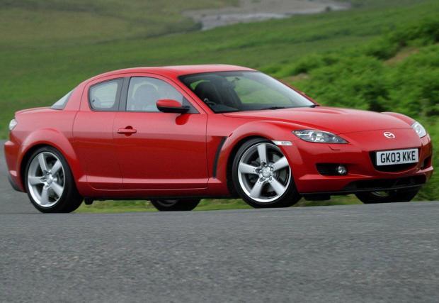 8. 1,3-литровият роторен двигател на Mazda си остава легенда