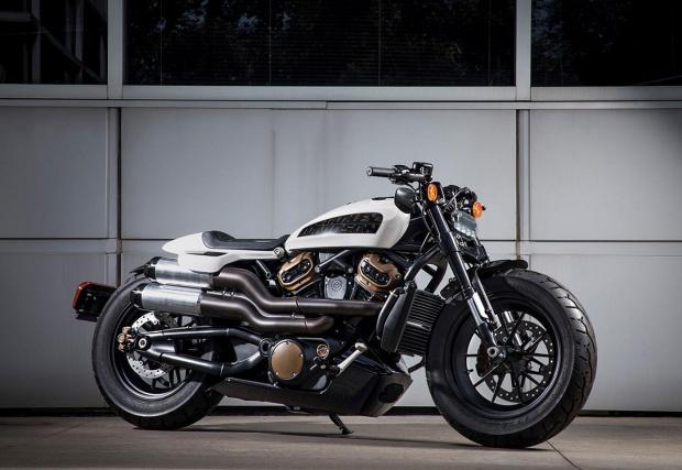 Визията за новия Harley-Davidson Custom 1250.