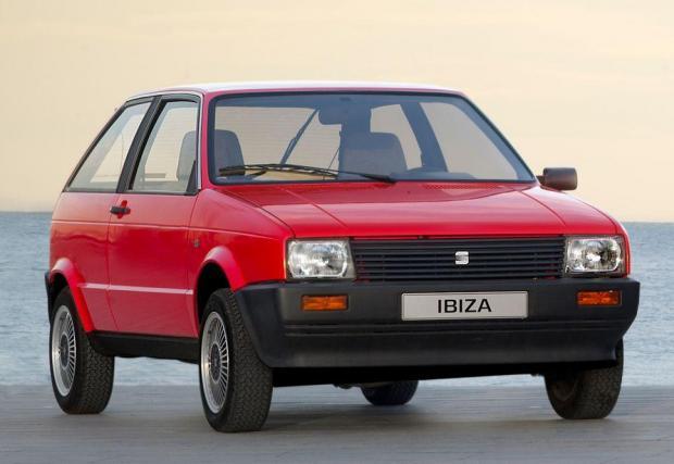 Първата Ibiza, чийто 1,5-литров мотор е същият, като при Lada Samara.