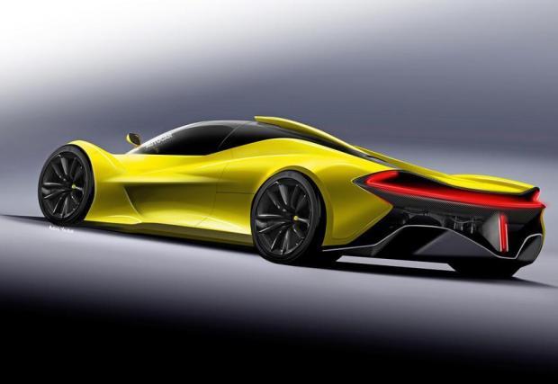 1. McLaren BP23: Внушителният духовен наследник на McLaren F1 - нито ще е с атмосферен мотор, нито ще има злато по задния капак. Но ще е много специална кола и най-бързият McLaren, правен някога.