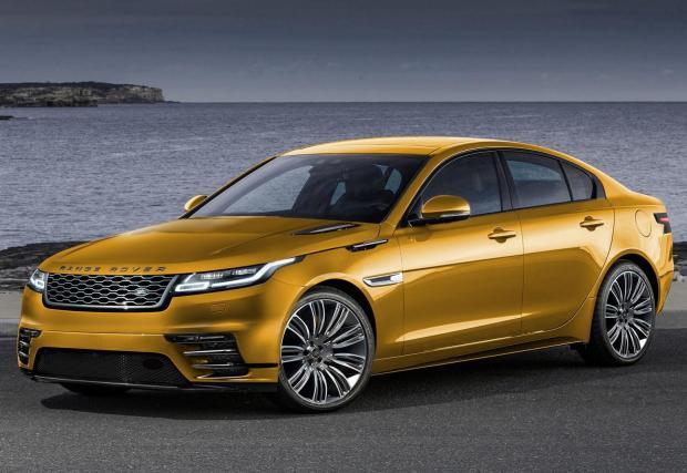 """20. Land Rover Road Rover: Непотвърден първи """"земен"""" модел на марката. Вероятно ще е лимузина върху платформата на следващия Jaguar XJ."""