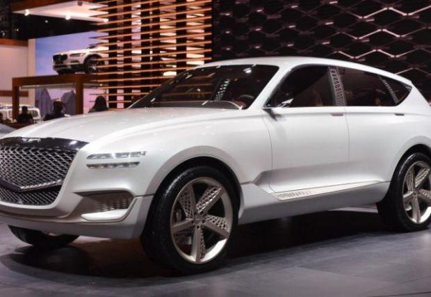 19. Genesis GV80: Луксозната марка на Hyundai ще пусне три кросоувъра, като този тук ще е конкурент на Merc GLE.