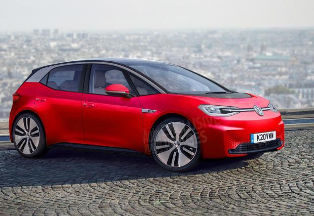 4. Golf VIII: Осмото поколение на иконата ще се появи през 2019, за да продължи традицията да носи автомобилната корона на главата си. Електрическата версия e-Golf ще дойде под формата на новите модели I.D.