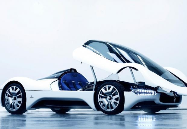 2. Maserati Birdcage 75th Concept - Тук важи същото, което казахме при Renault - напълно нефункционално и то-о-олкова ефектно решение. Благодарим ти, Pininfarina!