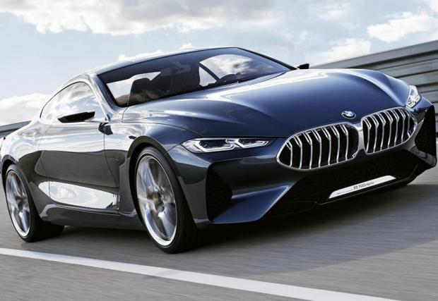 5: 2017: BMW 8 Series concept
