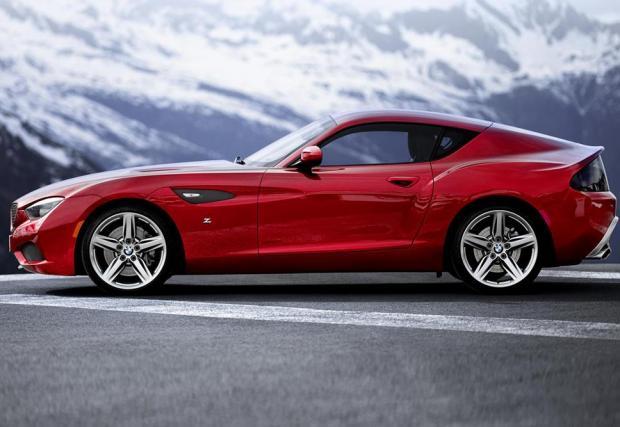 12: 2012: BMW Zagato Coupe concept