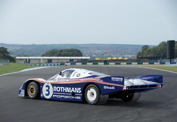 2. Porsche 956: Победителят от Льо Ман през 1983. Една от първите състезателни коли, използвала граунд ефект. Конкретният екземпляр скоро бе продаден за малко над 10 млн. долара.