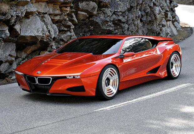 3: 2008: BMW M1 Hommage concept