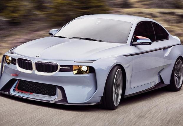4: 2016: BMW 2002 Hommage concept