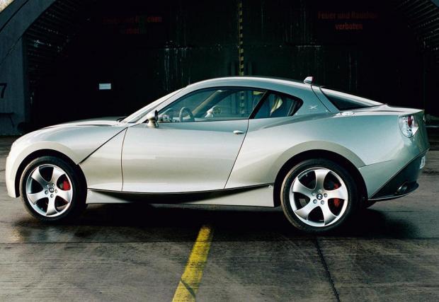 7: 2001: BMW X Coupe concept