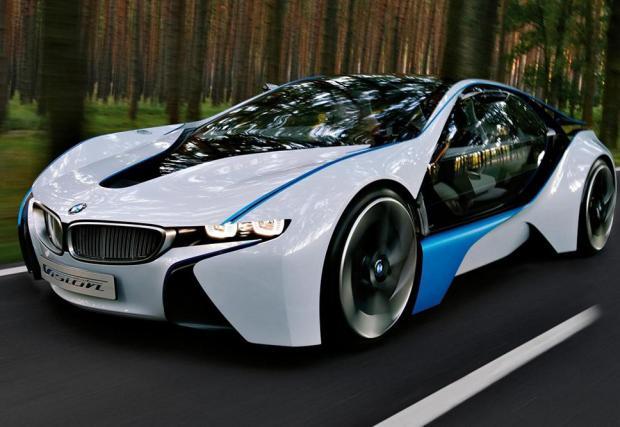 10: 2009: BMW Vision Efficient Dynamics