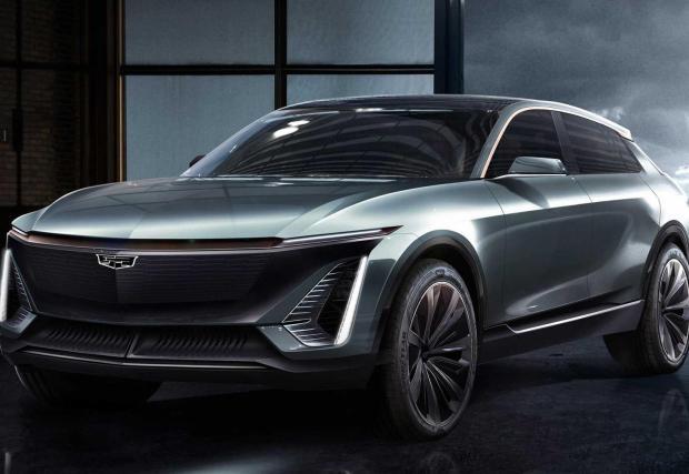 Галерия с първите две изображения на новия електрически Cadillac