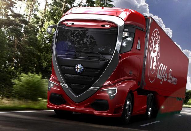 Галерия с 9 снимки на бъдещите и миналите камиони на Alfa