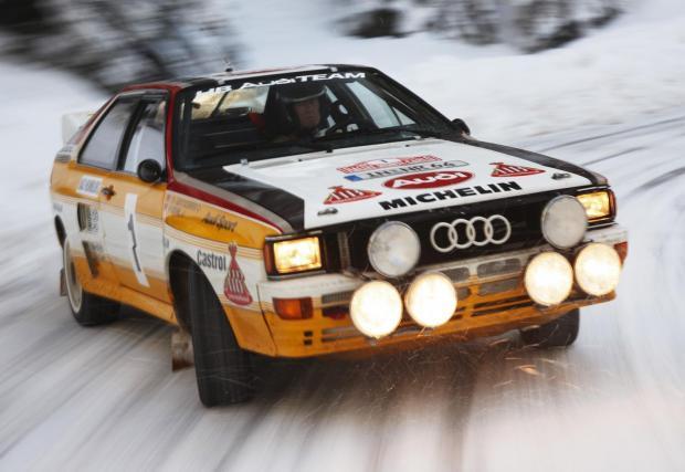 """Audi A2 Quattro: """"След като само двама-трима души в света могат да я карат, значи нещо не е наред. Но цялата ѝ мощност беше толкова забавна. И петцилиндровият мотор вадеше страхотен звук"""""""
