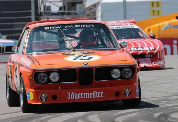 В промеждутъка от години извън F1 и след престоя си в McLaren Лауда караше и за BMW