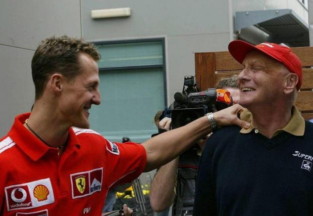 Завръщането на Шумахер в спорта след три години отсъствие често бе сравнявано с това на Лауда през 80-те, макар Михаел да остана далече от титла с Mercedes