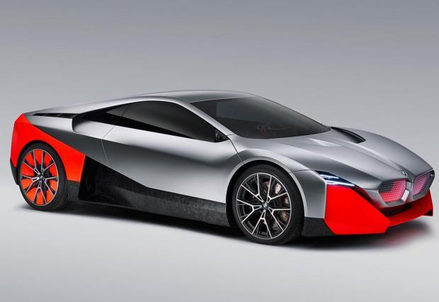 3. BMW Vision M Next: Наследникът на i8 ще бъде отново хибрид, но този път с около 600 к.с. и спринт до 100 км/ч за 3 секунди. Дано само изглежда по-баварски, защото, признаваме, прототипът не ни кефи.