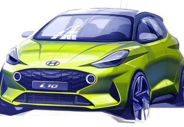 8. Hyundai i10: Малък Hyundai може да звучи като тотална скука, но корейците обещават това да бъде най-високотехнологичната кола в сегмента. Звучи дигитално и обещаващо.