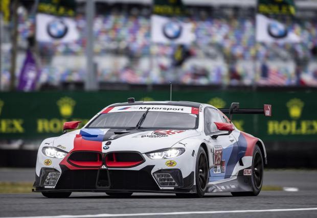 2018: P63/1 в BMW M8 GTE. С намален обем до 4 литра този двигател е изграден от точно 2300 части. 985 от тях са уникални спрямо стандартния P63. Турбо моторът се използва в BMW M8 GTE и е най-икономичният V8 в моторните спортове, твърди BMW.
