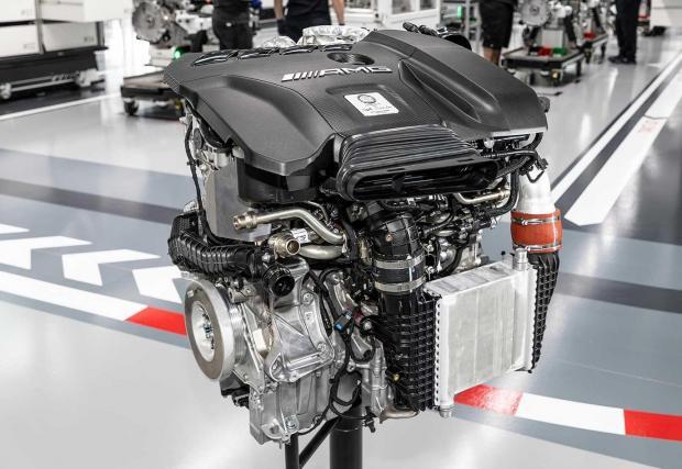 Пред вас е най-мощният четирицилиндров мотор в света - M139