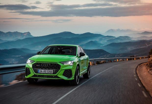 RS Q3 Sportback в зелено Kyalami green