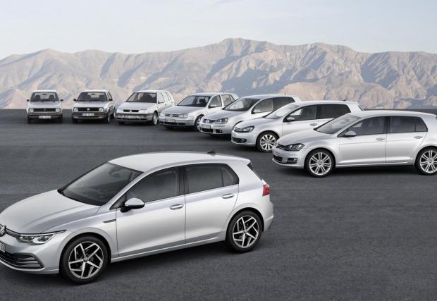 35 000 000. Толкова автомобила Golf са произведени от първите седем поколения на колата до днес.