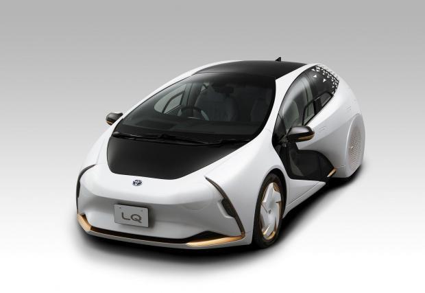 Галерия с четири снимки на футуристичния Toyota LQ
