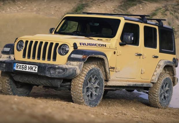 Wrangler Rubicon участва в този тест с 2-литров мотор с 272 к.с.