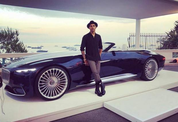 Mercedes-Maybach 6 - Специално за тази изразяваме дълбоки съмнения. Прототипът е един-единствен брой и в Mercedes едва ли биха били възхитени някой да го кара по улиците на Монако. Също така се съмняваме, че Люис копнее за двутонен кабриолет.