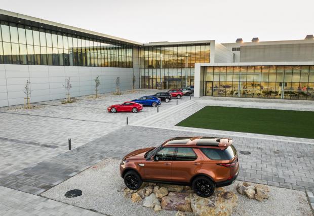 В Словакия е и една от най-модерните автомобилни фабрики в света - тази на Jaguar Land Rover