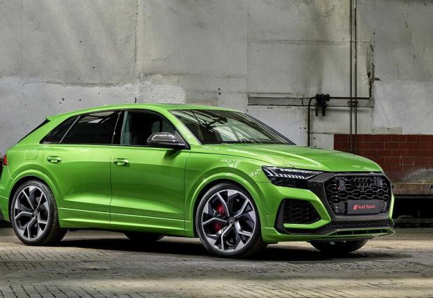 Audi RS Q8 - 17 снимки