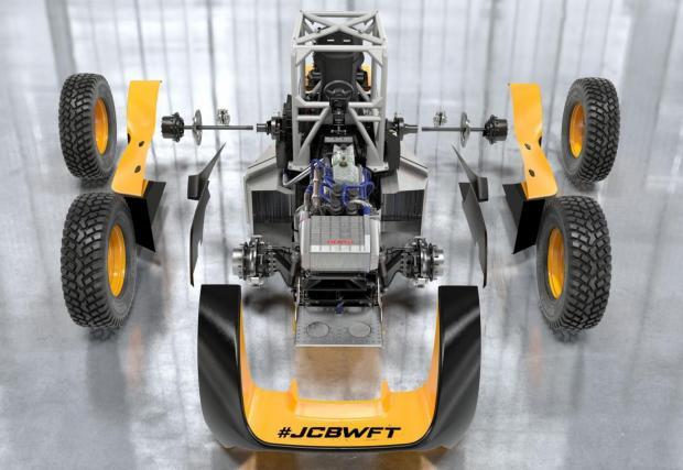 Инженерите на JCB са постигнали олекотяване от 10% в сравнение с предишния си рекордьор