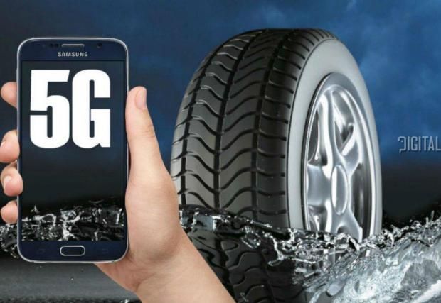 Новите гуми на Pirelli ще си комуникират с останалите гуми по пътищата през 5G мрежата
