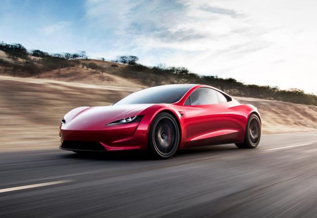 Ако си говорим за реална суперкола от Tesla - това е тя - второто поколение на Roadster