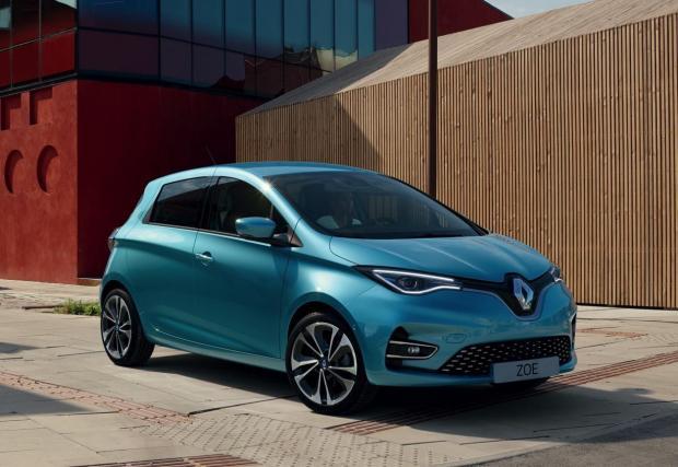 Zoe също може да предостави изпитана платформа за електрическа Dacia