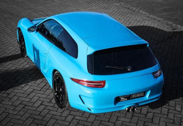Галерия с 9 снимки на уникалното Porsche