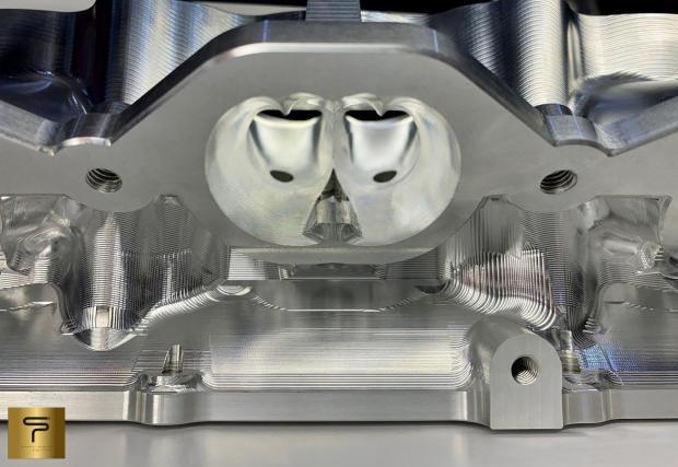 Това е фрезована глава за Nissan GT-R R35