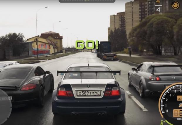 Галерия с осем кадъра от видеото, които ще ви върнат към спомените от една от най-силните версии на NFS