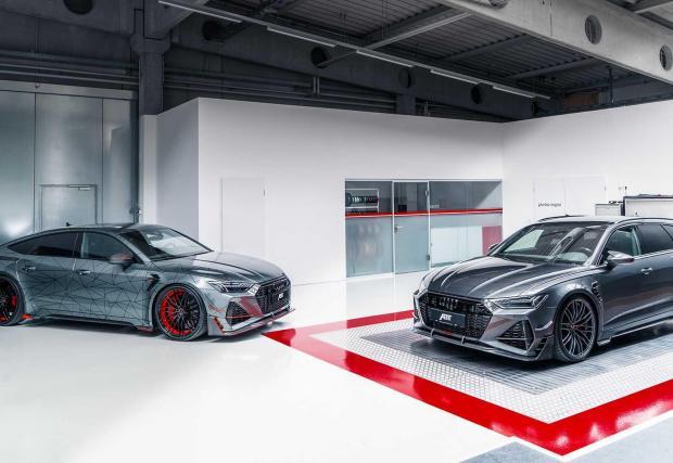 RS6-R в компанията на представения миналата седмица RS7-R