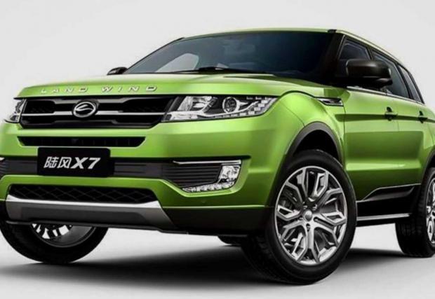 Landwind X7 - Един от най-известните китайски автомобили поради това, че загуби дело в съда за прилика с Evoque