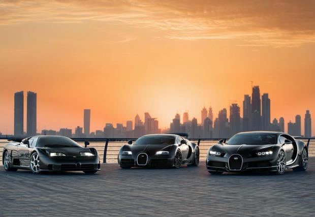 EB110, Veyron и Chiron