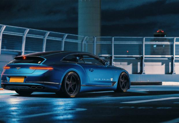 В галерията следват снимки на стандартното Conti GT като купе и кабриолет