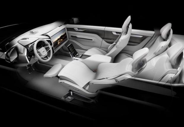 Volvo Concept 26 - така Volvo виждаше бъдещето на автомобилния интериор преди пет години